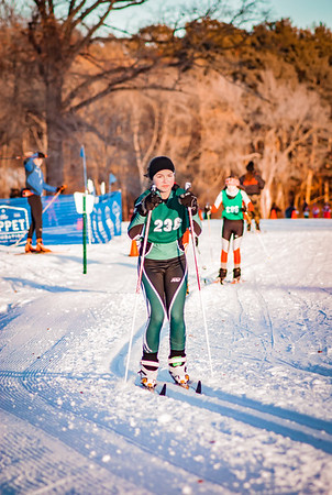 Holy Family Classic Nordic @ Theodore Wirth Park Jan 3, 2019: Erin Schneider '19