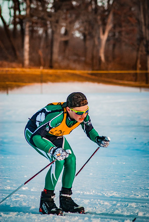 Holy Family Classic Nordic @ Theodore Wirth Park Jan 3, 2019: Dylan Ehlers '22
