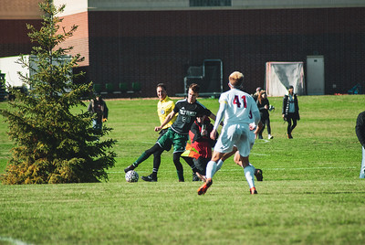 Holy Family Varsity Soccer vs. Mound Westonka Oct 13, 2018: Joe Fasching '19 (20)