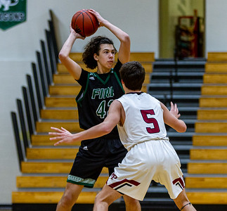 Holy Family's Boded Kapke '23 (43) vs. New Prague - Collin Nawrocki/The Phoenix