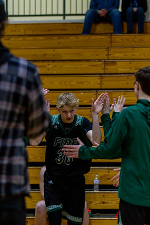 Holy Family's Noah Seck '21 (30) vs. New Prague - Collin Nawrocki/The Phoenix