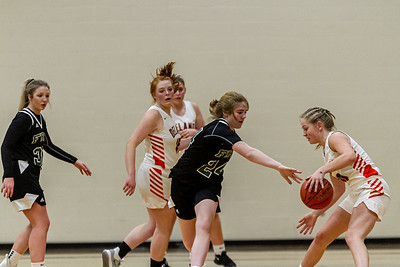 Holy Family Varsity Girls Basketball vs. Delano, 1/10/20: Sophia Zay '24 (24)