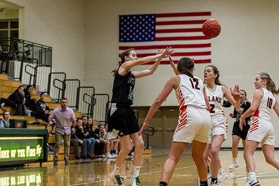 Holy Family Varsity Girls Basketball vs. Delano, 1/10/20: Captain Abbey Fink '20 (11)