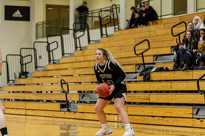 Holy Family Varsity Girls Basketball vs. Delano, 1/10/20: Lucy Hertel '22 (33)