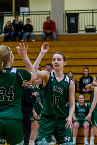 Holy Family's Captain Abbey Fink '20 (11) vs. Maple Lake at Section 5AA Round of 16 - Collin Nawrocki/The Phoenix