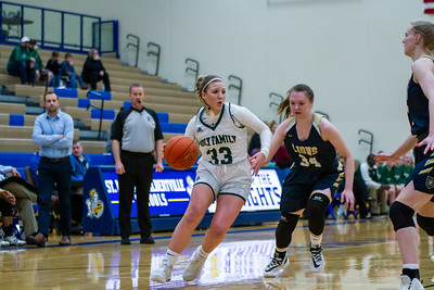 Holy Family's Lucy Hertel '22 (33) vs. Providence Academy  at Section 5AA Semifinal - Collin Nawrocki/The Phoenix