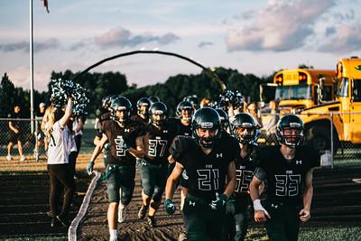 Holy Family Varsity Football vs. Dassel-Cokato, 9/6/19: Luke Terris '20 (21)