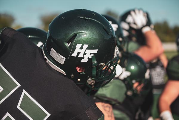 Holy Family Varsity Football vs. Mound Westonka, 8/29/19: Will Zay '21 (23)