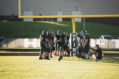 Holy Family Varsity Football vs. Mound Westonka, 8/29/19: Thomas Guyer '21 (19)