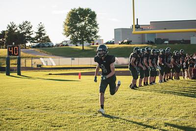 Holy Family Varsity Football vs. Mound Westonka, 8/29/19: Chris Bauer '20 (3)