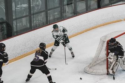 Holy Family Varsity Girls Hockey vs. Waconia, 1/9/20: Caitlin Rock '20 (12)