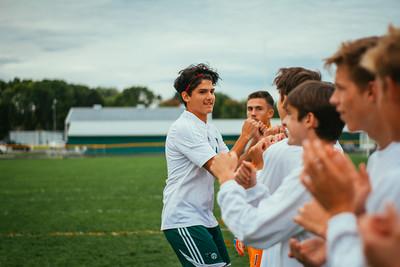 Holy Family Boys Varsity Soccer vs. Hutchinson, 9/26/19: Sebastian Bojorquez-Rojas '21 (24)