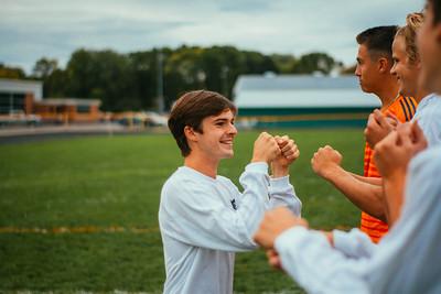 Holy Family Boys Varsity Soccer vs. Hutchinson, 9/26/19: Dan Parker '20 (9)