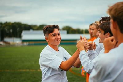 Holy Family Boys Varsity Soccer vs. Hutchinson, 9/26/19: Eric Oconitrillo '23 (18)