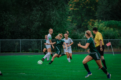 Holy Family Girls Varsity Soccer vs. Shakopee, 9/21/19: Katie Anseth '22 (19)
