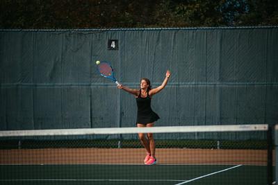 Holy Family Girls Tennis vs. Providence Academy, 9/24/19