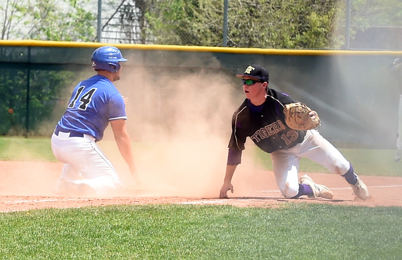 Holy Family and Longmont Playoff Baseball