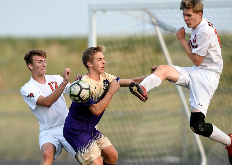 Holy Family vs Erie Boys Soccer