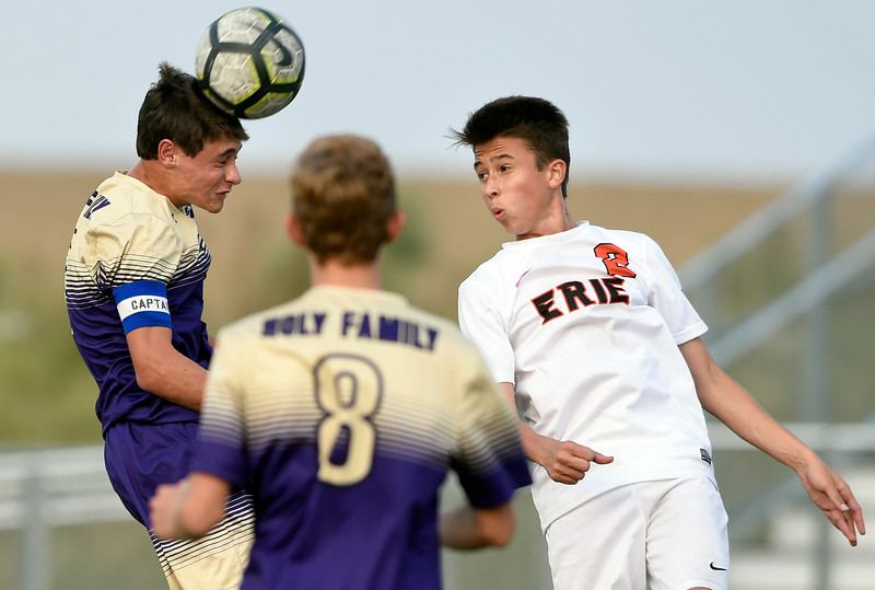 Holy Family vs Erie Boys Soccer