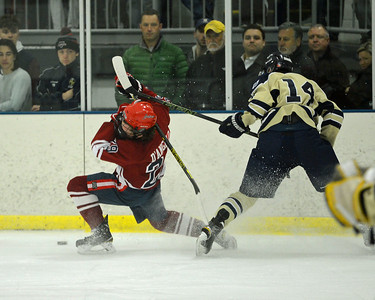 Holy Ghost Prep ice hockey vs LaSalle in Flyers Cup