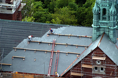 Reroofing Holy Hill
