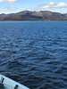 The mountains of Arran viewed from the ferry