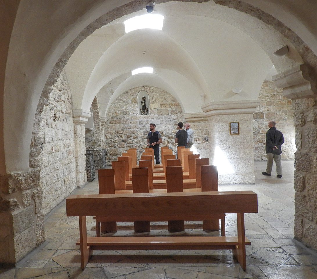 Chapel in the Milk Grotto