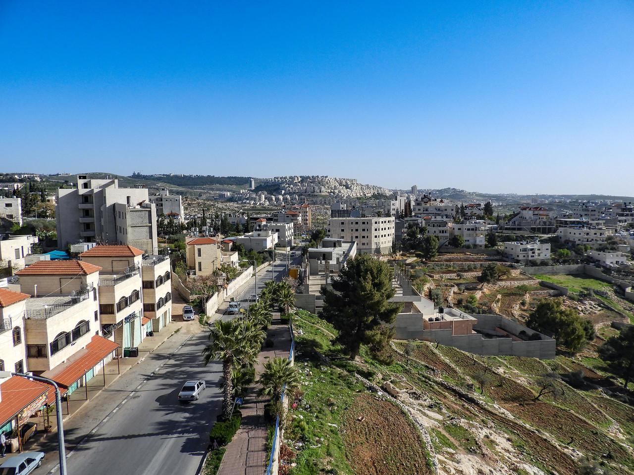 Bethlehem, Palestine, first morning