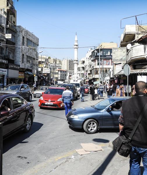 Shopping street, Amman , Jordan