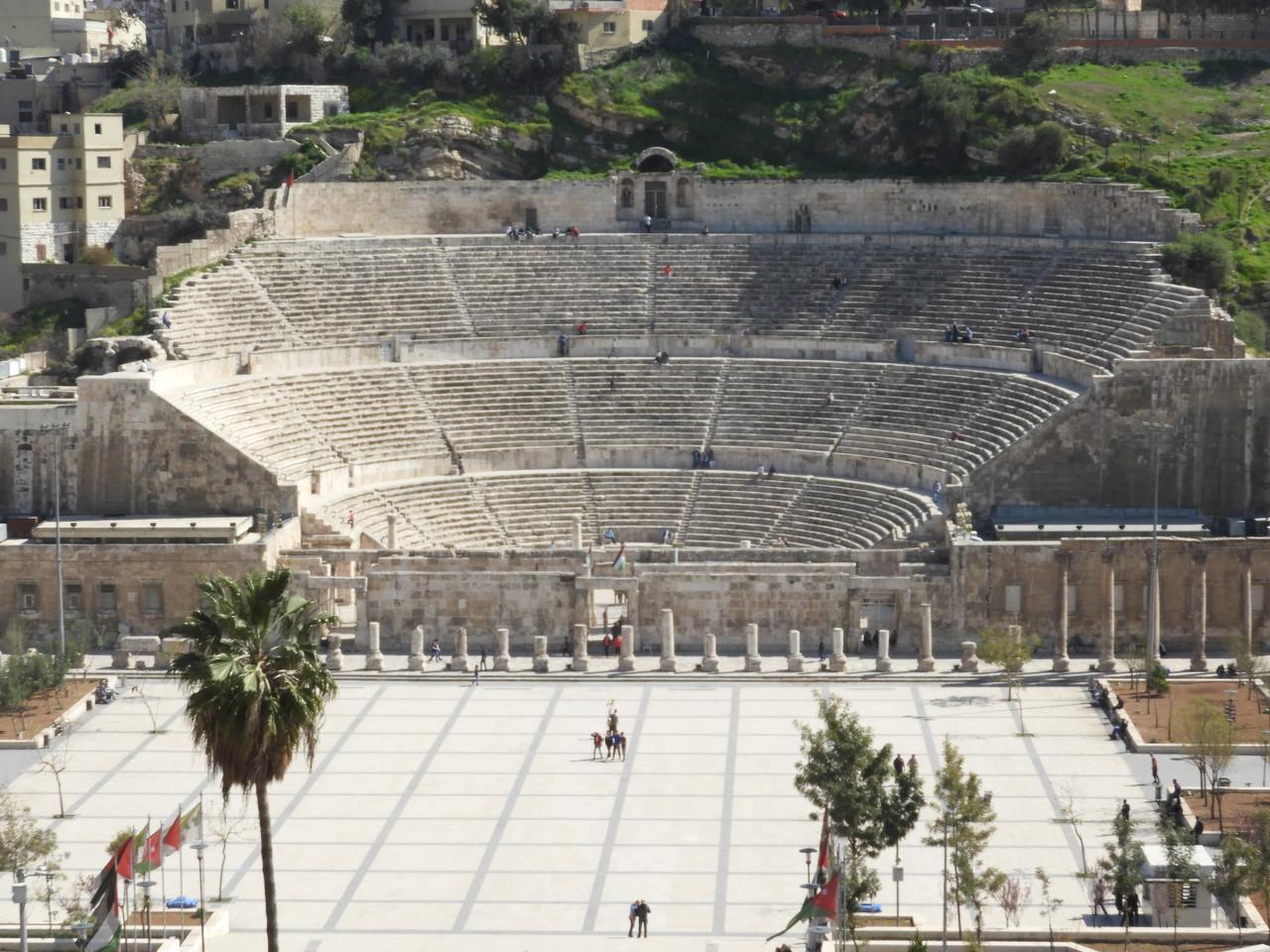 Roman Amphitheater, Amman , Jordan