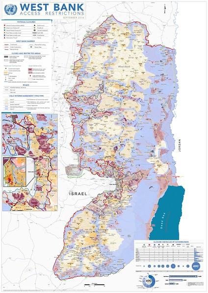 West Bank Access Restrictions 2014