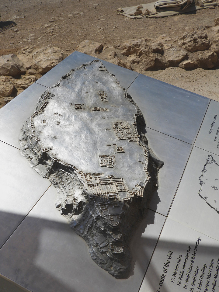 Model of the Masada structures