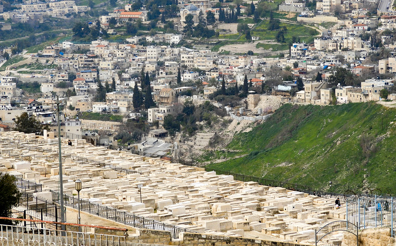 Jewish tombs below The City of David