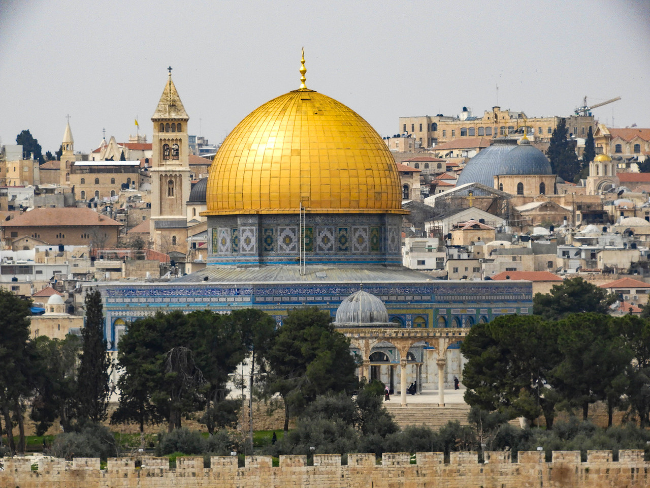 Dome of the Rock, Church of the Holy Sepulchre