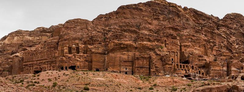 The Royal Tombs, closer.