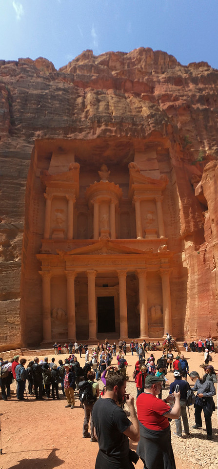 Another perspective on The Treasury, Petra.