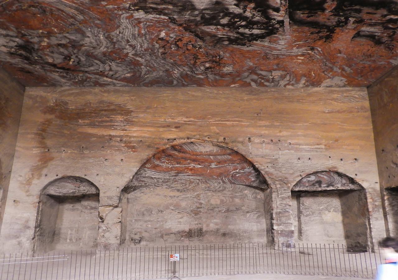 Interior of the Silk Tomb