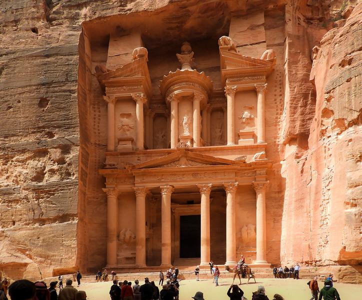The Treasury, at Petra, Jordan