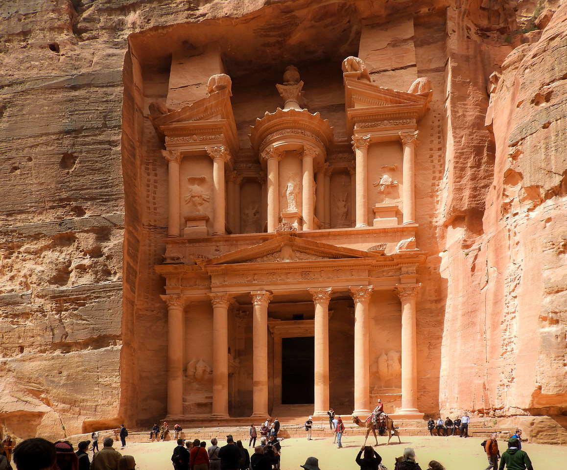 The Treasury, at Petra, Jordan