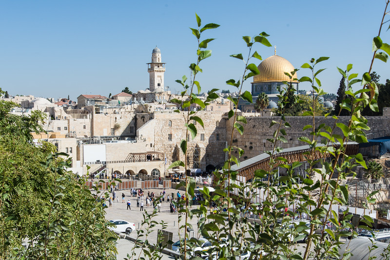 Jerusalem - Approaching the Western Wall Plaza