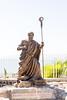 Capernaum - St. Peter Statue