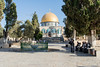 Jerusalem - Temple Mount Lower Platform view of the Dome of the Rock