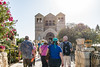 Mount Tabor - Church of the Transfiguration Entrance Path