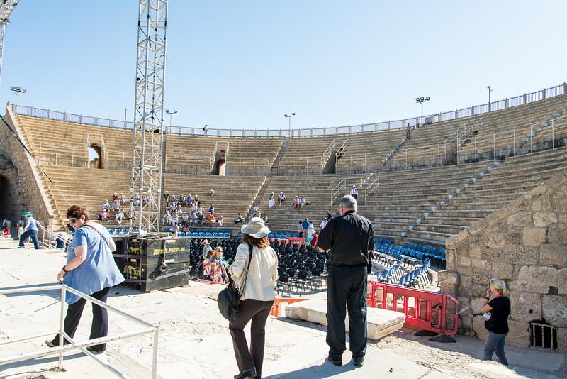 Caesarea Maritima - Inside Roman Amphitheater