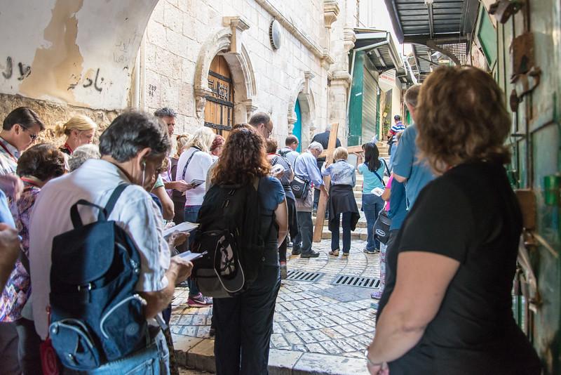 Jerusalem - Walking the Via Dolorosa, the Way of the Cross