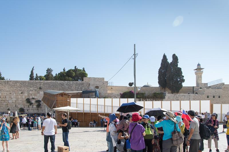 Jerusalem - The Wesern Wall Plaza (Wailing Wall)