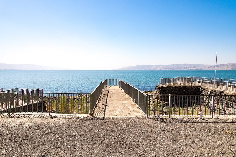 Capernaum at the Sea of Galilee