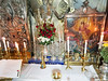 Jerusalem - Church of the Holy Sepulchre, Mass in the Tomb of Jesus