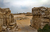 Chariots would enter through this gate into what was once an amphitheater in Herod's city of Caesarea.