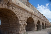 Caesarea8148<br /> Herod's high level Aqueduct was originally 7 miles long; it carried much needed fresh water supplying all of Caesarea from Carmel.